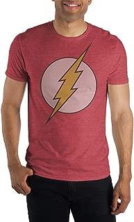 Flash Logo Mens Red Heather T-Shirt