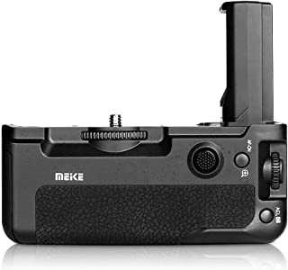 Meike MK-A9 Battery Grip Control Shooting Vertical-Shooting Function Compatible for Sony A9 A7III A73 A7M3 A7RIII A7R3 Camera