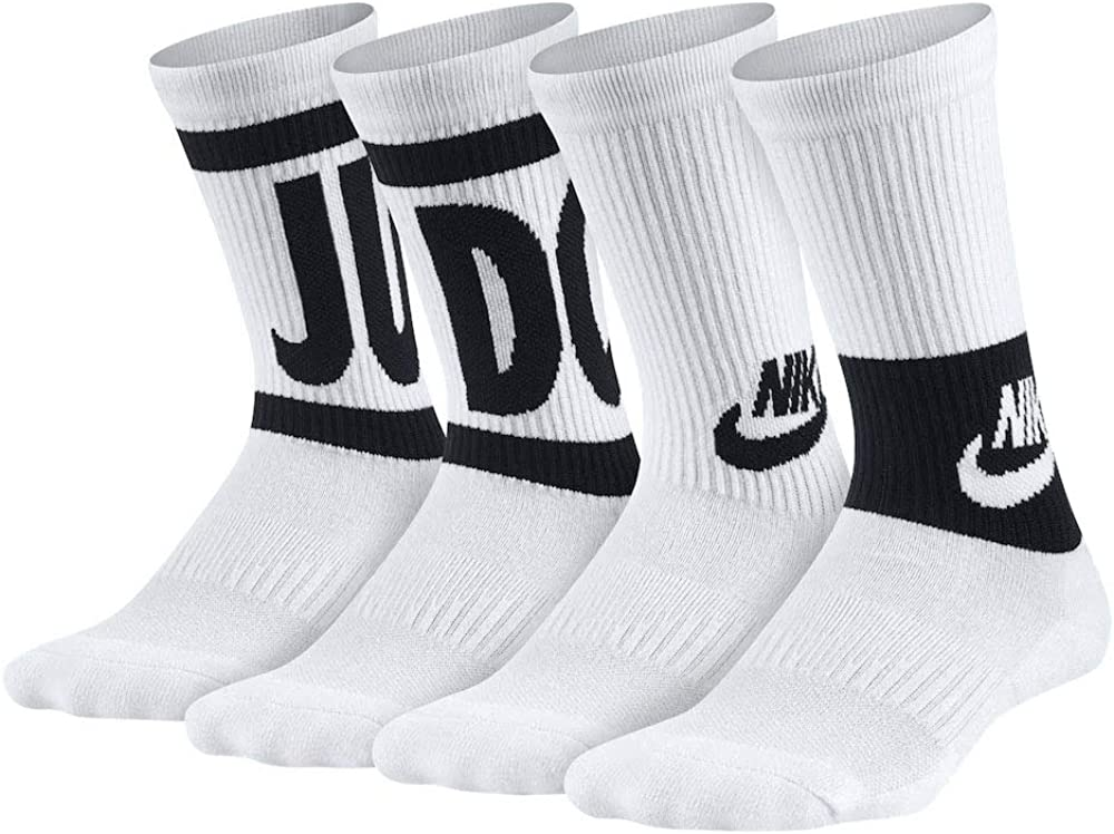 Nike Boy`s Dri FIT Performance Cushioned Crew Socks 3 Pack