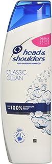 Head & Shoulders Classic Clean Dandruff Shampoo, Pack of 6 ( 6 x 250 ml), Clinically Proven Deep Clean, UK #1 Shampoo