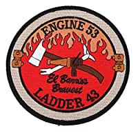 DEVGRU ENGINE 53 LADDER 着脱式 刺繍 ベルクロ パッチ ミリタリー ワッペン team6 ローン・サバイバー