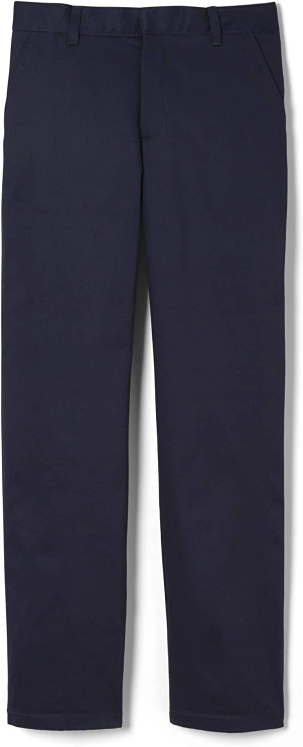 French Toast Boys Adjustable Waist Work Wear Finish Relaxed Fit Pant Standard /& Husky