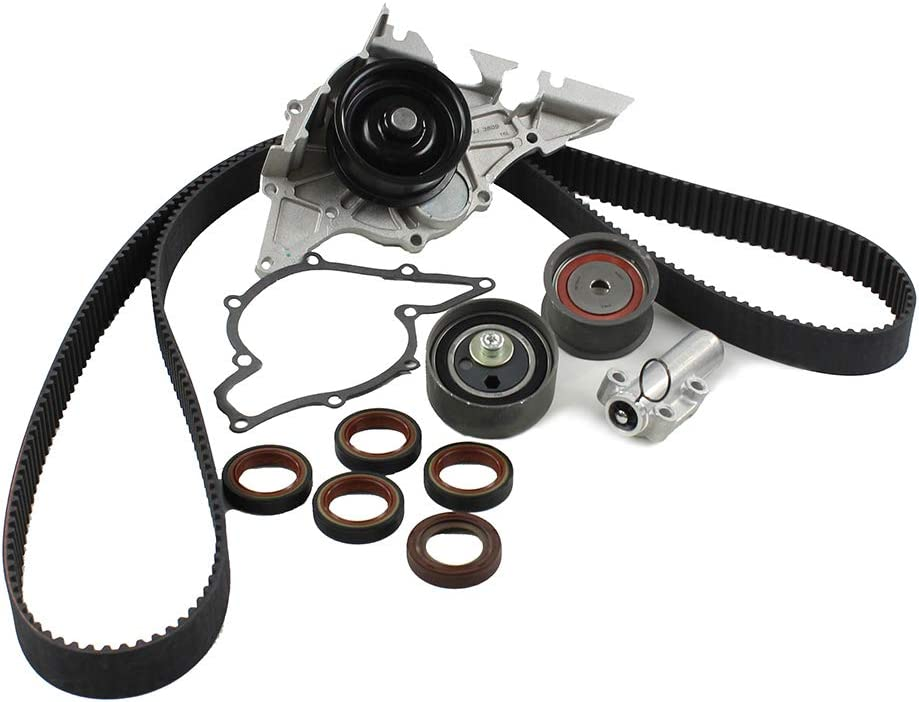 DNJ TBK804WP Timing Belt Kit with Aud Water for Deluxe Pump 2000-2005 Cheap bargain