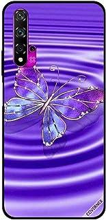 For Huawei Nova 5T Case Blue Purple Butterfly