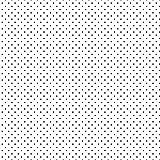 babrause® Baumwollstoff Pünktchen Weiß Schwarz Webware