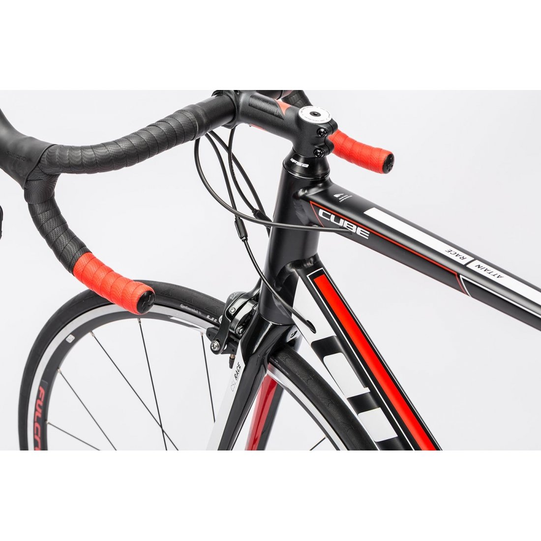 Bicicleta de carretera Cube Attain Race 2016 – H 56 cms: Amazon.es ...