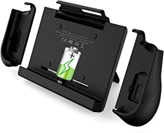 BigBlue 10000mAh Battery Charger Case with a Pair of Joy-Con Grip for Nintendo Switch, Portable Backup SwitchCharge, Battery Charger Docking Station with Kickstand & Game Card Slot for Nintendo Switch