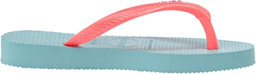 Ice Blue/Coral New