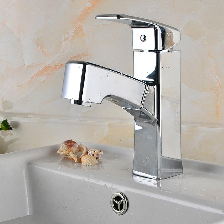 Lvsede Bad Wasserhahn Design Küchenarmatur Niederdruck Alle Kupfer Pull-Waschbecken Waschbecken Kaltes Und Warmes Mischwasser Badezimmer Doppelwaschbecken L4878