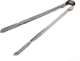 CLAIRLA Kitchen Tongs for Cooking BBQ Grill Salad Barbeque Grilling Serving Metal Small Stainless Steel Pasta Tong (7.9)