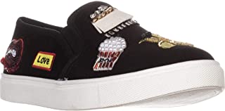 Betsey Johnson Women's Black Cooper Sneakers, Black Multicolored; 5 M US