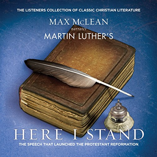 Martin Luther's Here I Stand audiobook cover art