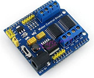 Motor Control Shield drives 4 DC Motors & 2 Stepping Motors with Dual H-bridge Driver L293D for Arduino @XYG-Study