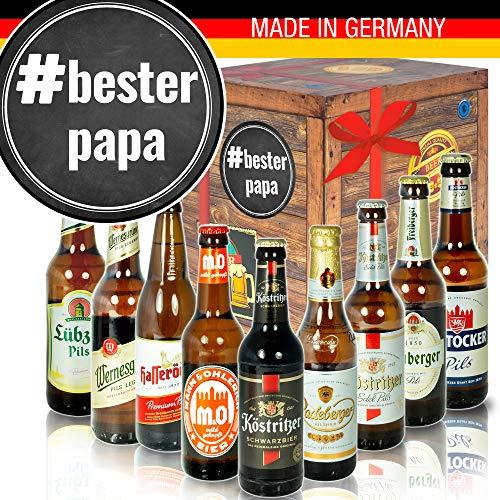 BesterPapa - DDR Bierbox - Vater Geschenke Geburtstag