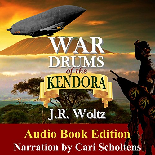 War Drums of the Kendora audiobook cover art