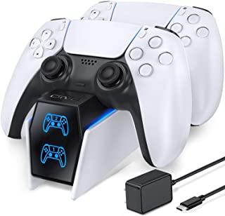 PS5 Controller Charger, OIVO PS5 Charging Station for Dualsense Controller, PS5 Controller Charger Station with Fast Charg...