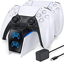 PS5 Controller Charger Station, PS5 Charging Station with...