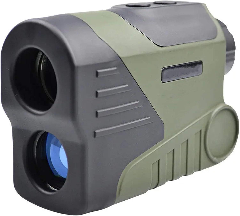Telémetro de Golf 6X HD 1000M Visión Nocturna Digital Telescopio LED Distancia Monocular Transmisor de Alcance de Alcance para Golf Caza al Aire Libre para la Caza con Arco