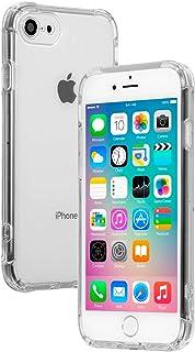 【21SPEC】 iphone8 ケース [クリア 耐衝撃 ハード シリコン ストラップホール] アイホン8ケース [音声が前面から流れる] アイフォン7ケース アイホン7 iphone7 アイフォン8 ケース [透明 薄型 ワイヤレス充電 ス...