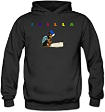 Caili Women's J Dilla Cartoon Images Hooded Sweatshirts