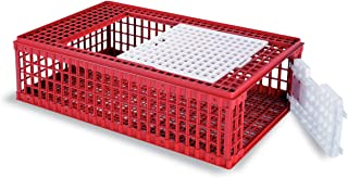 Poultry Shipping Crate, Red, 37.40