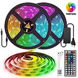 10M Tira LED RGB 5050 300 Leds, IP65 Impermeable...