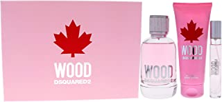 Dsquared2 Wood Pour Femme For Women 3 Pc Gift Set