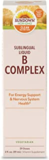 Sundown Vitamin B-12 Complex Sublingual Liquid, 2 Ounces