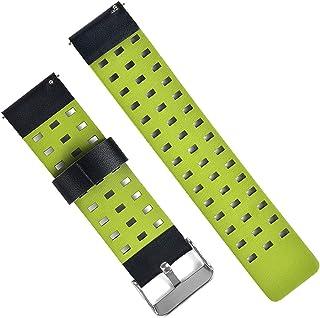 ZHINTE Leather Strap Compatible with Realme-Watch 2/2 Pro Waterproof Durable Smart Watch Fashion Bracelets Sports Wristband