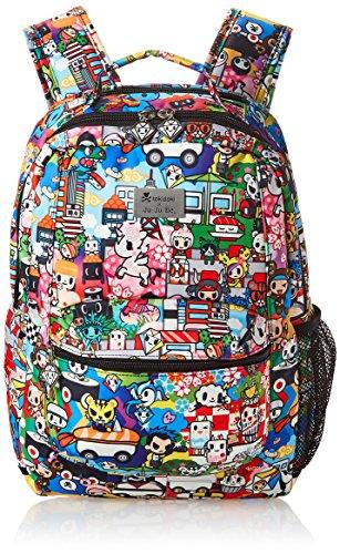 JuJuBe - Be Packed - Machine Washable Backpack, Tokidoki Sushi Cars