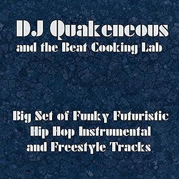 Big Set of Funky Futuristic Hip Hop Instrumental and Freestyle Tracks