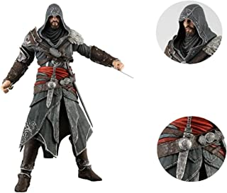 Xuda Assassin's Creed 3rd Generation Brotherhood Ezio Auditore Movable Figure Model Statue About 15cm High