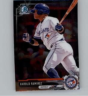 2017 Bowman Chrome Mini #BCP120 Harold Ramirez Toronto Blue Jays
