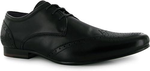 Firetrap Herren Beaufort Business Halbschuhe Elegante Brogue Budapester Schuhe