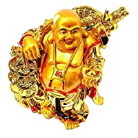 Grand Jhaiji Laughing Buddha is known all over the world as a symbol of happiness and abundance. As per Feng Shui, placing Laughing Buddha statue at home, office is extremely auspicious. It can be placed near the entrance or hall and is best suited i...