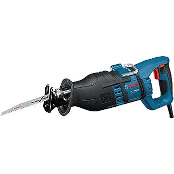 Bosch Professional GSA1300PCEProfessional Scie Sabre GSA 1300 PCE (1300 W, Profondeur de Coupe Maxi : 230 mm, avec SDS et Constante Electronique, 2 Lames (Bois/Métal), dans Coffret) Bleu