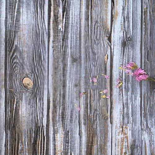 Holz Klebefolie Blau 45cm X 300cm Holzmaserung Wandtapete Holz Gestreift Folie Natur Birkenholz Holzoptik Selbstklebend Möbelfolie Blau für Wand Tisch Schrank Möbel Grau Wanddeko lila Aufkleber