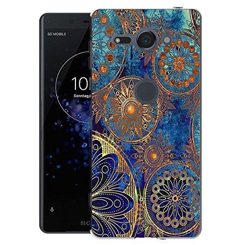 Sony Xperia XZ2 Compact Handy Tasche, FoneExpert® Ultra dünn TPU Gel Hülle Silikon Hülle Cover Hüllen Schutzhülle Für Sony Xperia XZ2 Compact