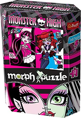 Trefl - 35301 - Puzzle - Morph Monster High I - 50 Pièces