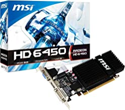 MSI R6450-MD1GD3/LP Radeon HD 6450 Graphic Card - 625 MHz Core - 1 GB DDR3 SDRAM - Low-Profile