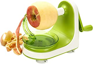 Ourokhome Rapid Apple Pear Peeler- Peeling a Fruit in Seconds (Green)