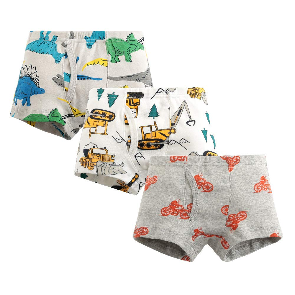 12 Pack Boys Kids Regular Boxer Shorts Pants Briefs Underwear Boxers 2-16 Years