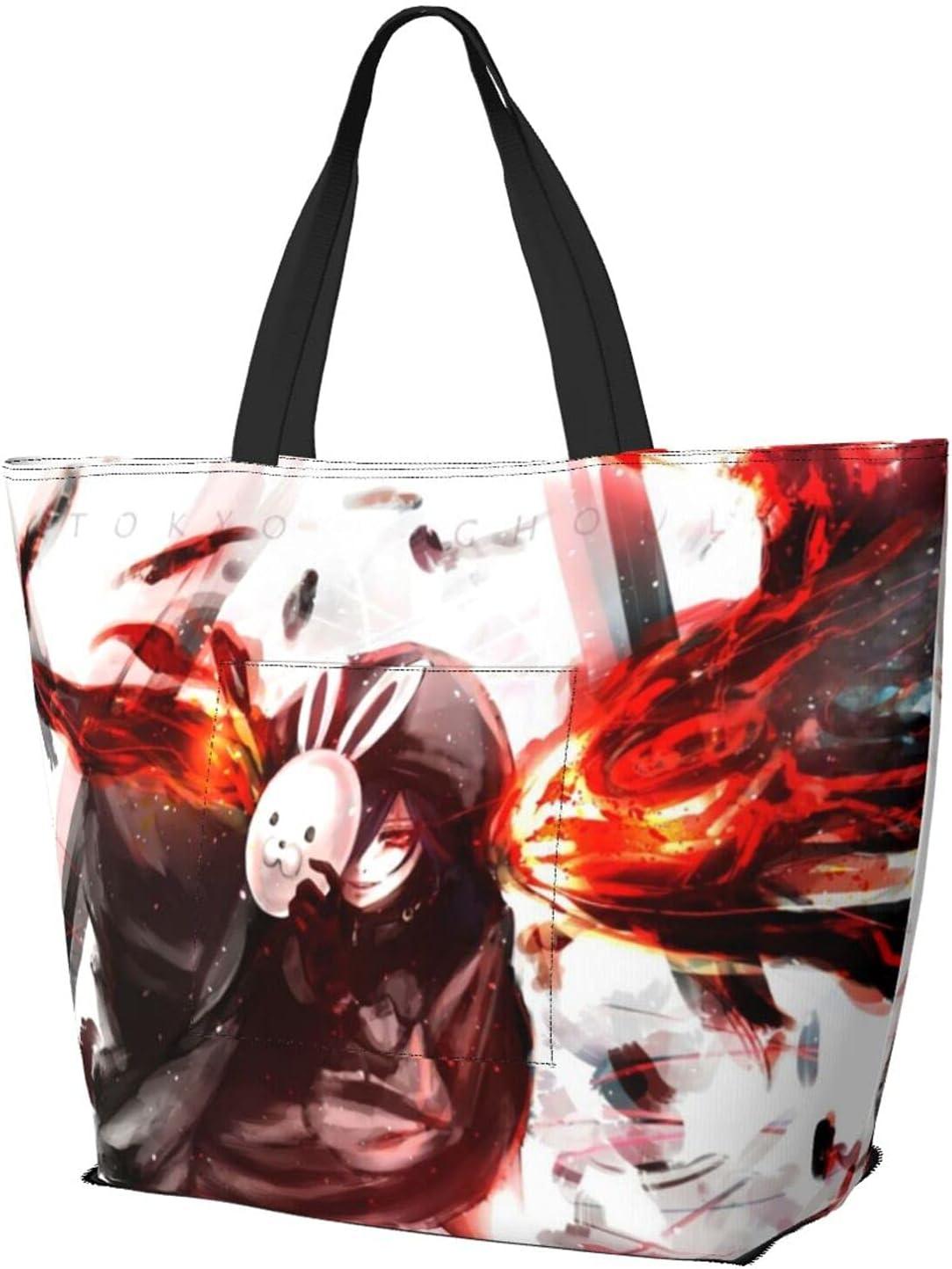 Overseas OFFicial mail order parallel import regular item Tokyo Ghoul Shoulder Bag Anime Touka Kirishima Durable