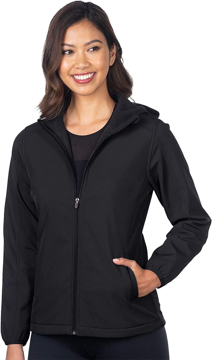 Tri-Mountain - Odessa Women's Bonded Hooded X Jacket Shell Seattle Mall Soft excellence
