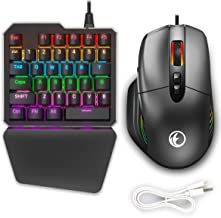 IFYOO KMAX1 Pro Wired Gaming Keyboard and Mouse Set Adapter Converter for Xbox One / PS4 / Switch / PS3 / PC(Windows/Linux...