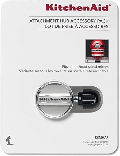 wholesale KitchenAid Ksmhap online Attachment Hub Accessory Pack, new arrival Silver online