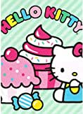 Hello Kitty Sprinkles and Stripes Plastic Table Cover ...