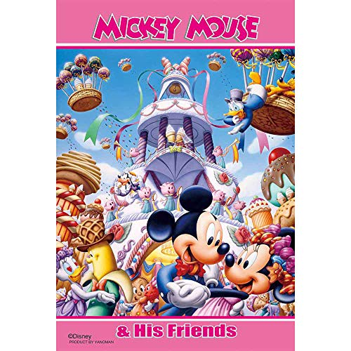 ダンスパーティ ディズニー Disney ジグソーパズル 99ピース プチライト ジグソー パズル Puzzle はがき A6 ポストカードサイズ ギフト プレゼント 誕生日プレゼント 贈り物 誕生日 クリスマス ステイホーム おうち時間 ミッキー ミニー