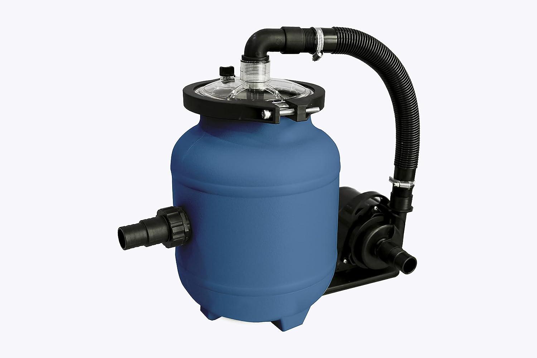 Spid'O - Grupo de filtración para piscina COMBO S1 Kit (bomba + cubeta + aqualoon) 3 M3/H para piscina de hasta 8 m3