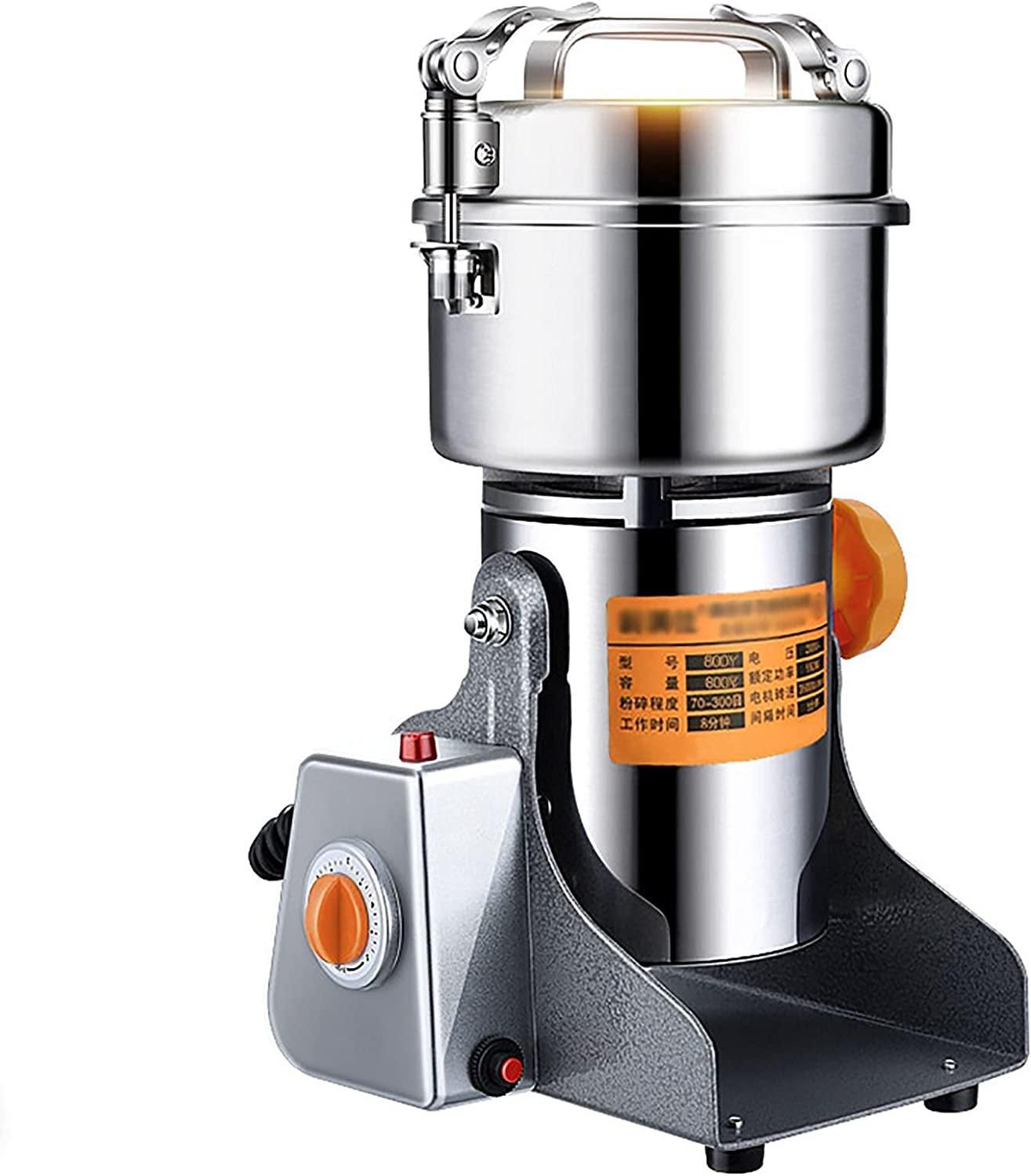 Stainless Steel Online limited product Grain Coffee Max 52% OFF Grinder Powder T Swing Machine Mill